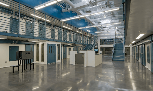 Interior shot of Kenton County Detention Center