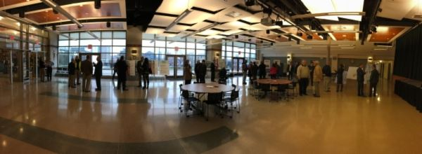 People Attending the New Kenton County Administration Building Open House