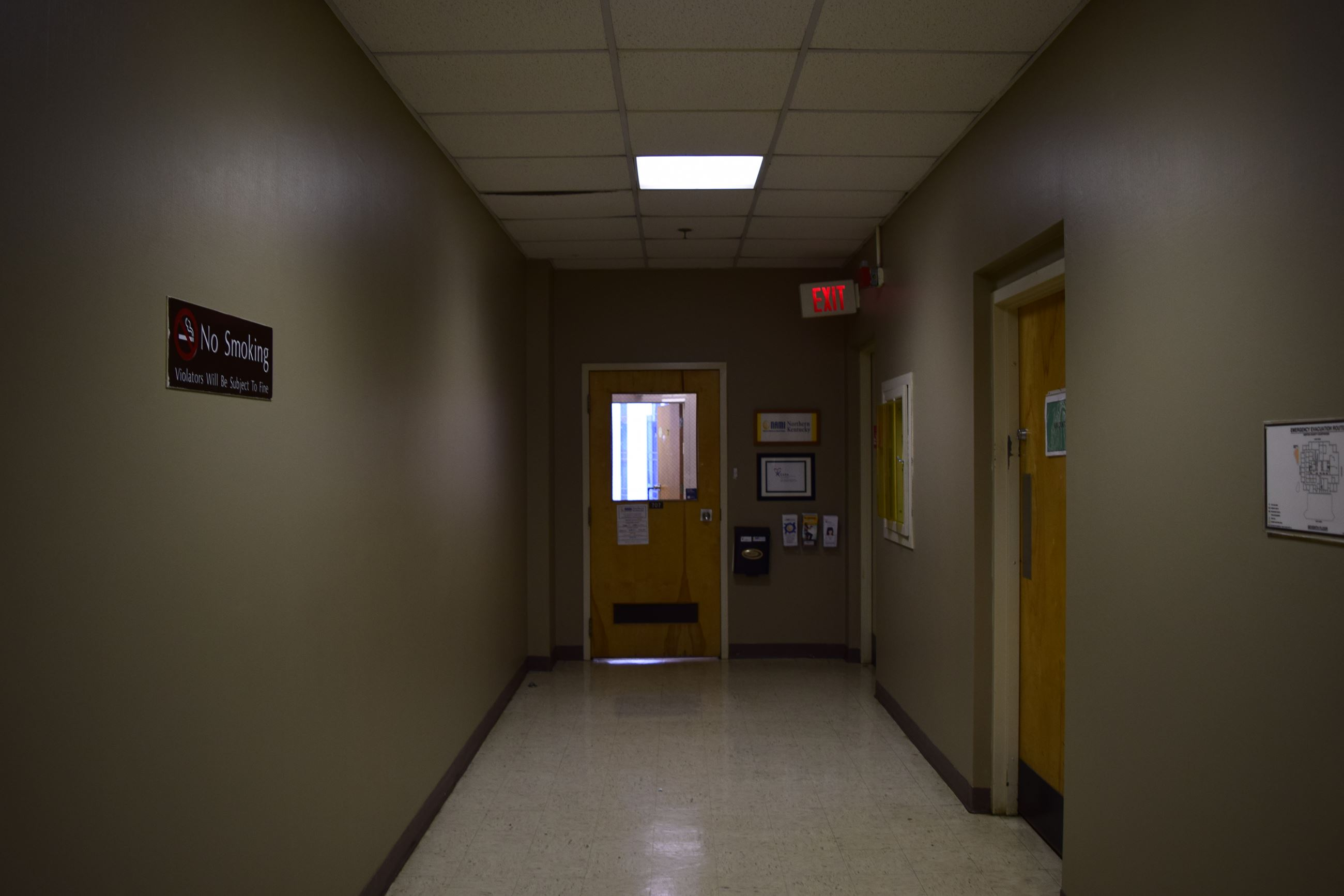 Hallway on 7th floor